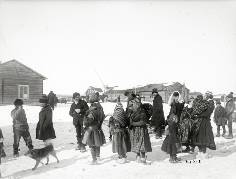 Samer i Jukkasjärvi år 1910.