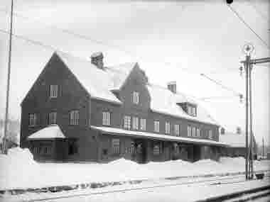 Kiruna Järnvägstation.