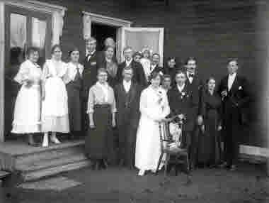 Kaupis bröllop 1917.
