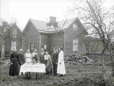 Hus på Reenstiernagatan 27, den 9 juni 1919