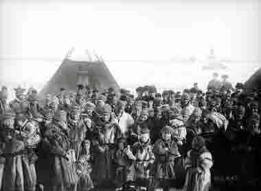 Samemöte i Jukkasjärvi år 1905.