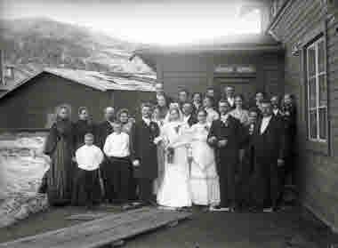 Dubbelbröllop kring 1910