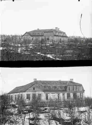 Bolagsskolan under uppbyggnad.