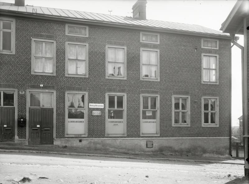 A.B Norrlandsbanken Kiruna exteriör.