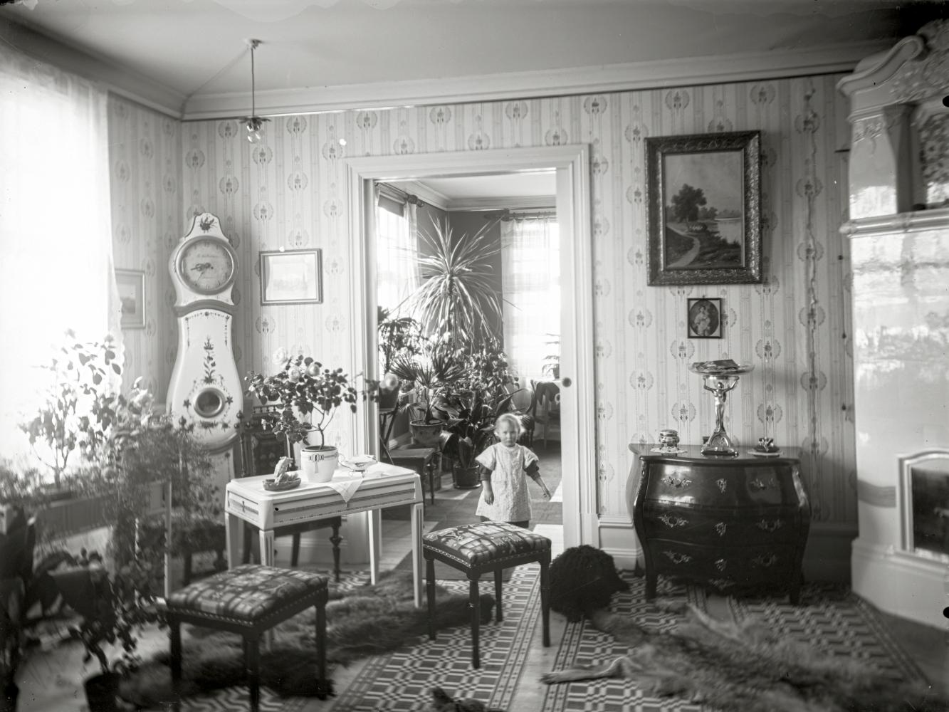 Interiör från burgnare Kiruna
