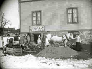 Billströms Kött & Fläsk affär, Kiruna.
